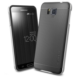 Купить Чехол Spigen Neo Hybrid Satin Silver для Samsung Galaxy Alpha
