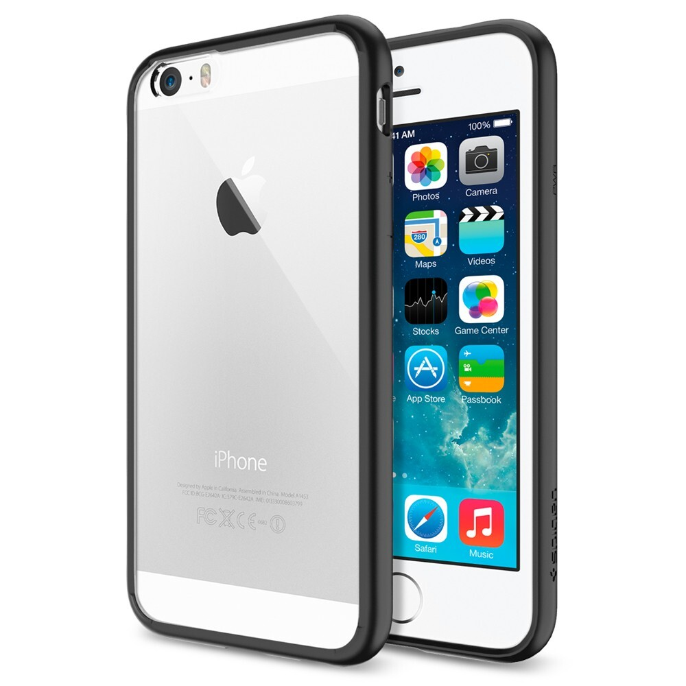 Чехол Spigen Ultra Hybrid Black для iPhone 6/6s