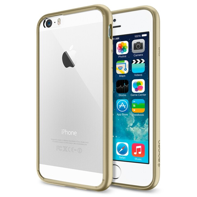 Чехол Spigen Ultra Hybrid Shampagne Gold для iPhone 6/6s