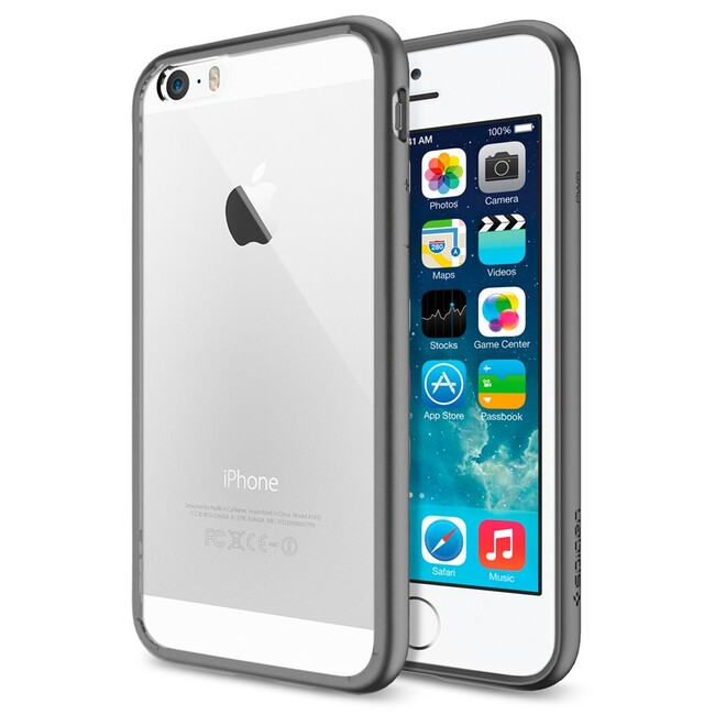 Чехол Spigen Ultra Hybrid Gunmetal для iPhone 6/6s