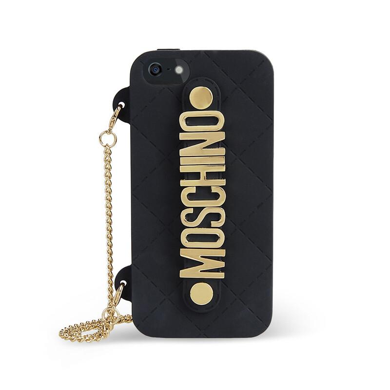 Чехол-сумочка Moschino для iPhone 5/5S/SE