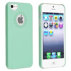 Купить Женский чехол Sweet Heart Green для iPhone 5/5S/SE