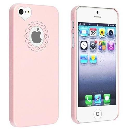 Женский чехол  Sweet Heart Pink для iPhone 5/5S/SE