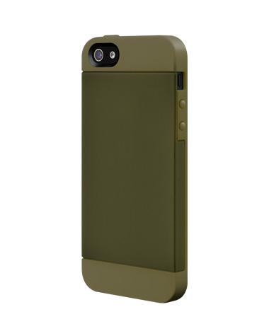 Темно-зеленый чехол SwitchEasy Tones для iPhone 5/5S/SE
