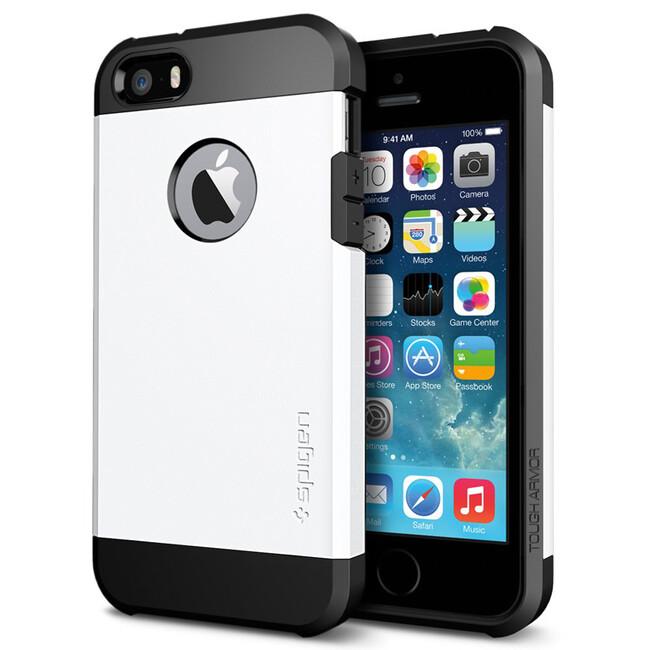 Чехол SGP Tough Armor Smooth White OEM для iPhone 5/5S/SE