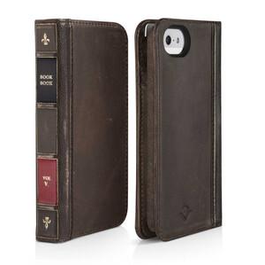 Купить Чехол-книжка Twelve South BookBook Brown для iPhone 5/5S/SE