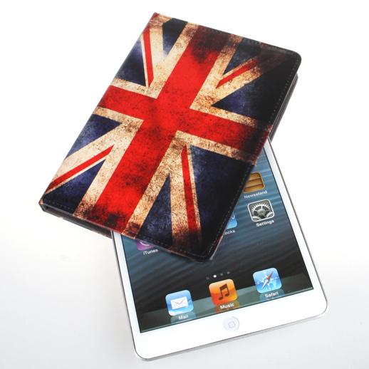 Чехол с флагом Великобритании Union Jack Retro для iPad mini 3/2/1