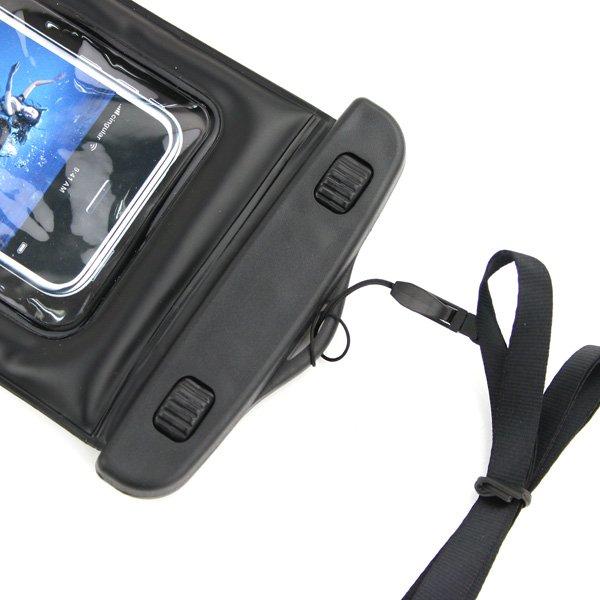 5c5e28fd1ead ... Универсальный водонепроницаемый черный чехол oneLounge Diving для  iPhone/iPod/Mobile - Фото 3 ...