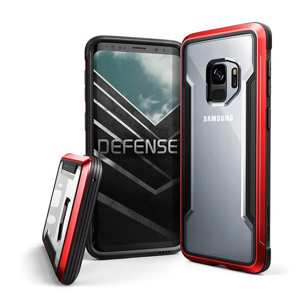 Противоударный чехол X-Doria Defense Shield Red для Samsung Galaxy S9