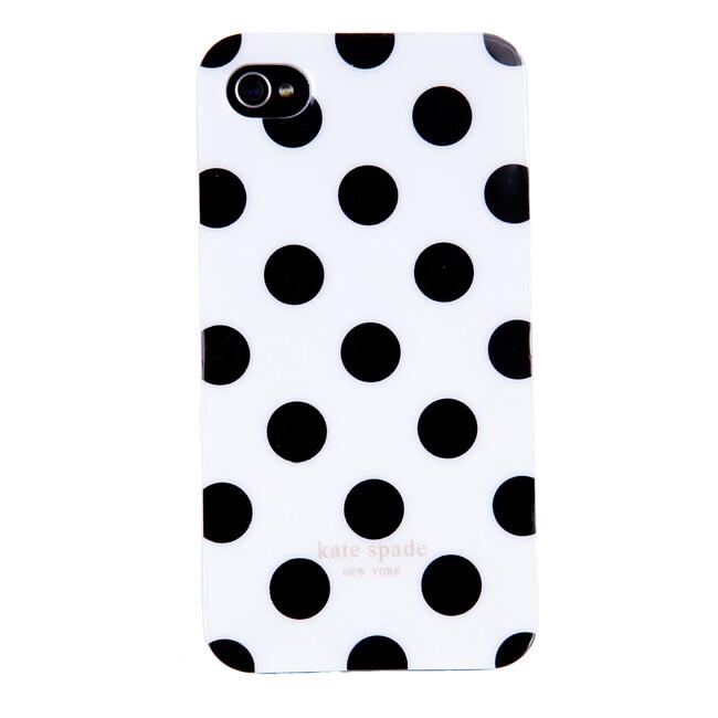 Чехол Kate Spade white для iPhone 4/4S
