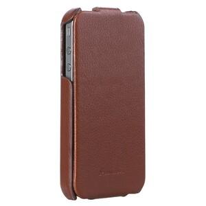 Купить Кожаный чехол Fashion Royal Series Brown для iPhone 4/4S