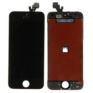 Купить Дисплей с тачскрином (оригинал, черный) для iPhone 5