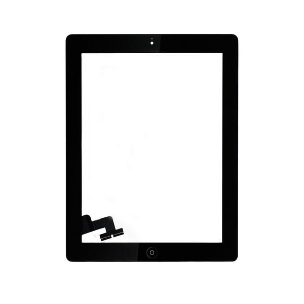 Черный тачскрин (сенсорный экран, копия) для iPad 2