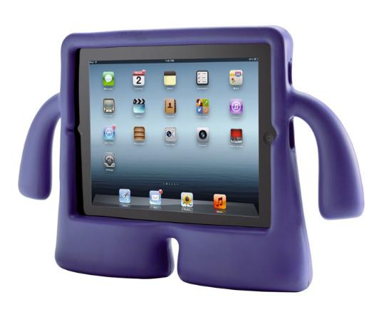 Детский чехол iLoungeMax iGuy Purple для iPad 2   3   4