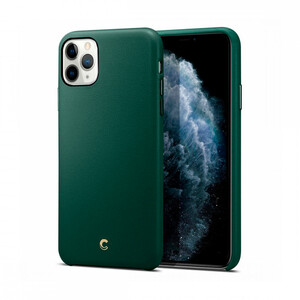 Купить Чехол Ciel by Cyrill Basic Leather Collection Forest Green для iPhone 11 Pro Max