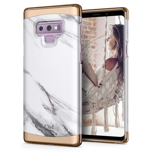 Чехол Ciel by Cyrill Clair White Marble для Samsung Galaxy Note 9