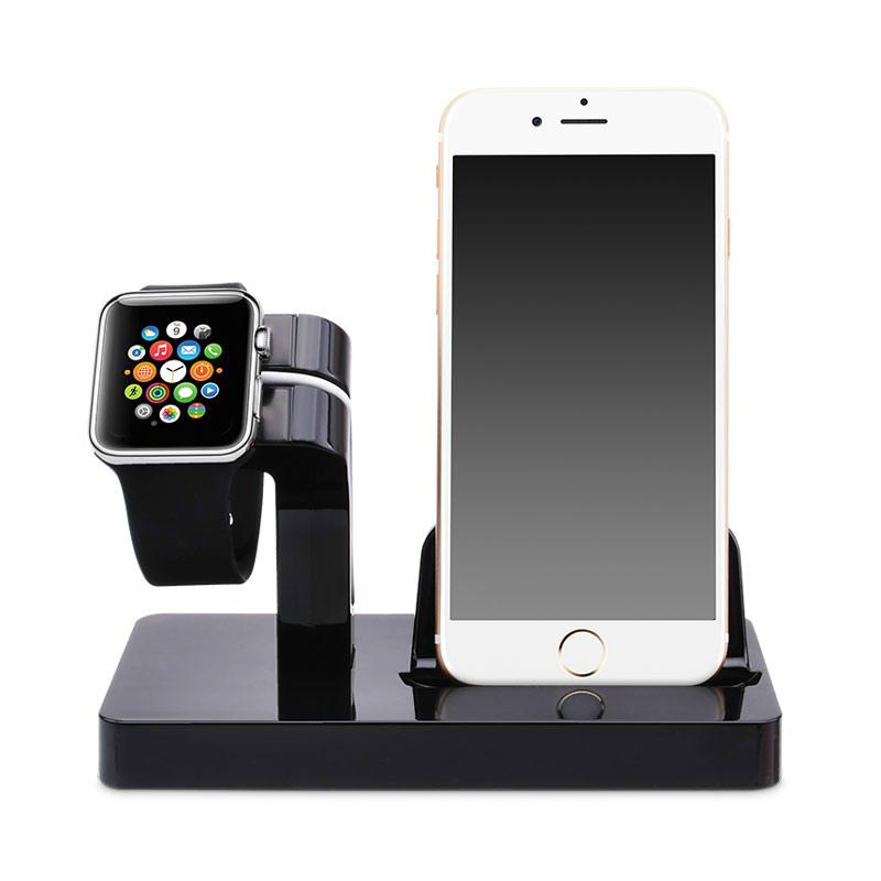 Купить Черная док-станция CinkeyPro Charger Dock для Apple Watch | iPhone