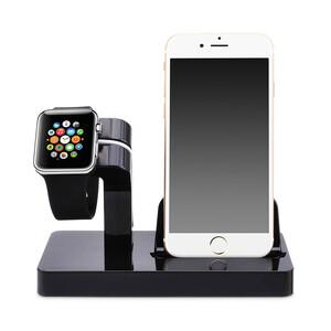 Купить Черная док-станция CinkeyPro Charger Dock для Apple Watch / iPhone