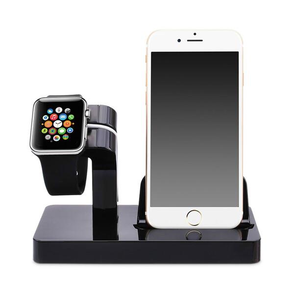 Черная док-станция CinkeyPro Charger Dock для Apple Watch | iPhone