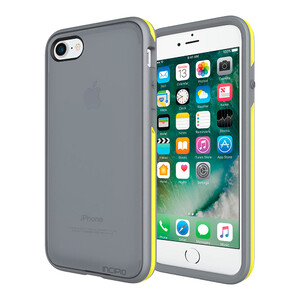 Купить Чехол Incipio Performance Series Slim Charcoal Grey/Yellow для iPhone 7/8
