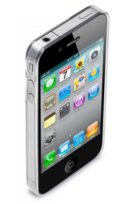 Прозрачный чехол из пластика CrystalShell для iPhone 4/4S