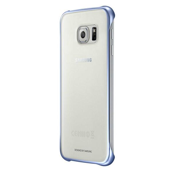 Чехол Samsung Clear Cover Blue для Samsung Galaxy S6