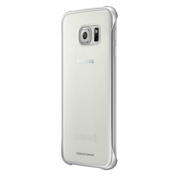 Чехол Samsung Clear Cover Silver для Samsung Galaxy S6