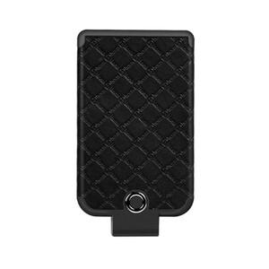 Купить Универсальный внешний аккумулятор HOCO BW4 Tiny Cool Back Clipped Power Bank 4000mAh Black для iPhone