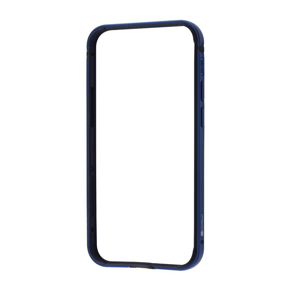 Купить Чехол-бампер COTEetCI Aluminum Bumper Dark Blue для iPhone 12 Pro Max
