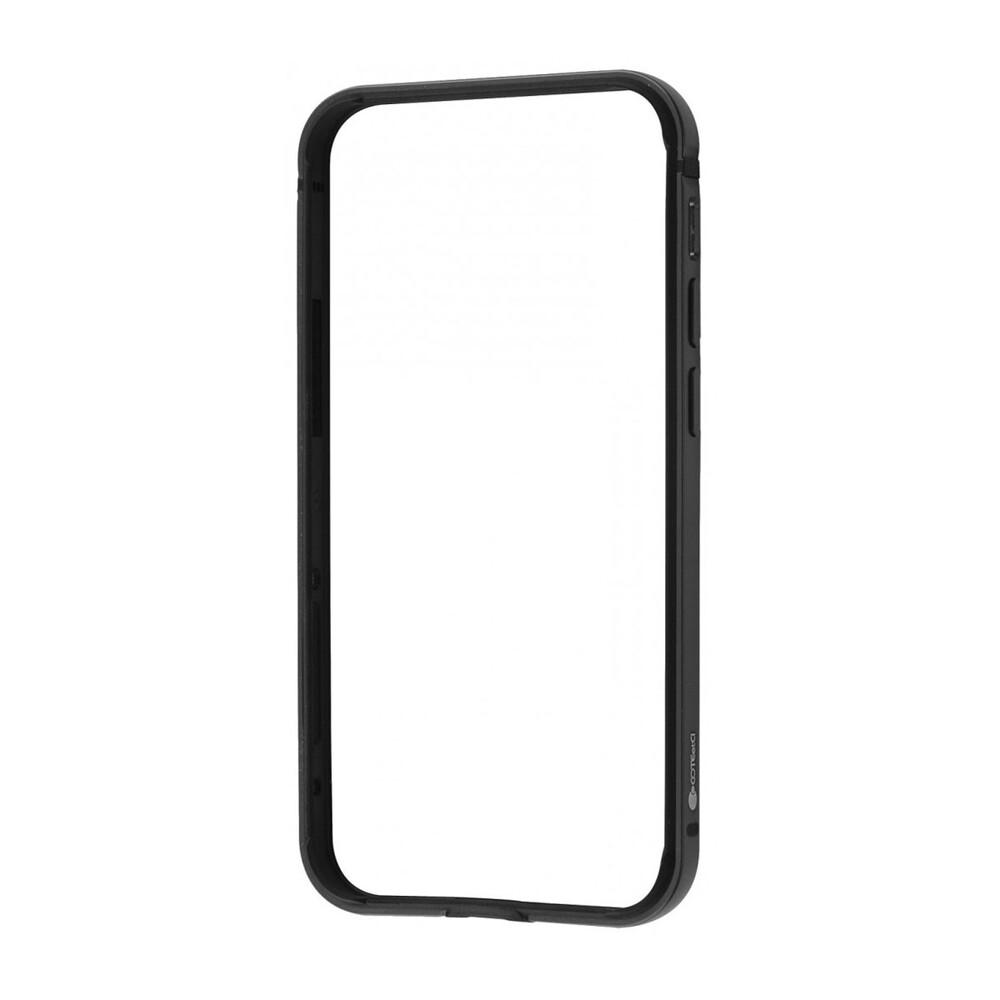 Купить Чехол-бампер COTEetCI Aluminum Bumper Black для iPhone 12 mini
