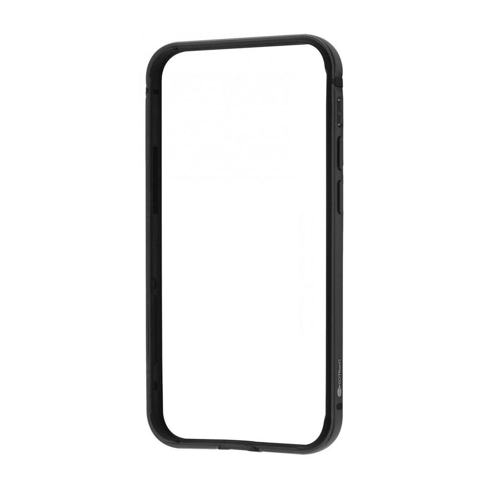 Чехол-бампер COTEetCI Aluminum Bumper Black для iPhone 12 | 12 Pro