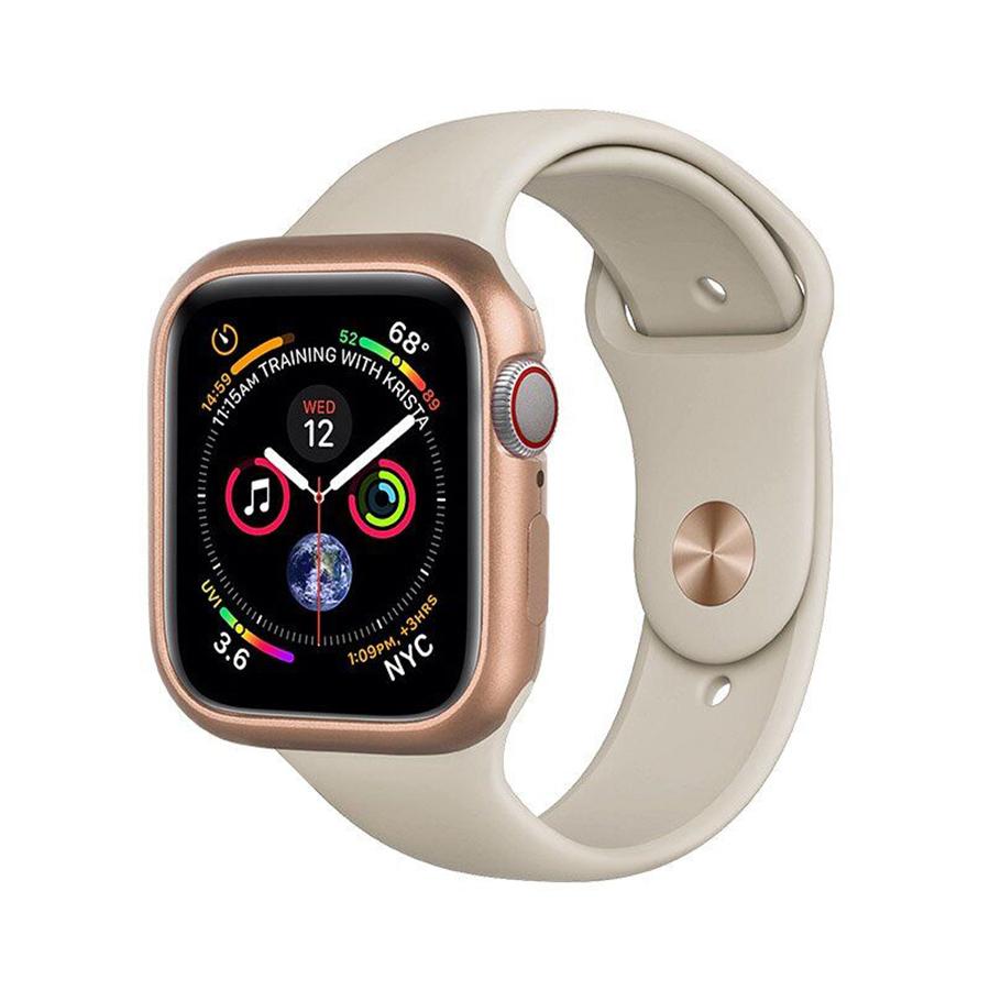 Купить Чехол COTEetCI Aluminum Magnet Gold для Apple Watch 44mm SE | 6 | 5 | 4