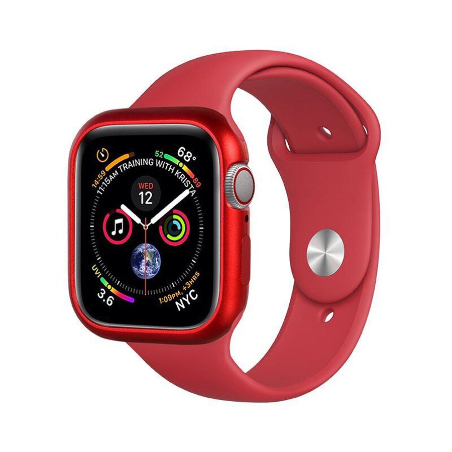 Купить Чехол COTEetCI Aluminum Magnet Red для Apple Watch 44mm SE | 6 | 5 | 4