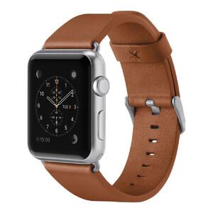 Купить Ремешок Belkin Classic Leather Band Tan для Apple Watch 38mm/40mm Series 5/4/3/2/1