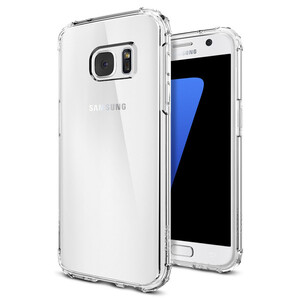 Купить Чехол Spigen Crystal Shell Crystal Clear для Samsung Galaxy S7