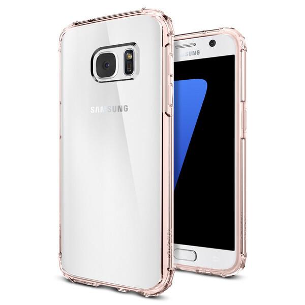 Чехол Spigen Crystal Shell Rose Crystal для Samsung Galaxy S7