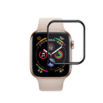 Защитное стекло oneLounge 3D Tempered Glass Curved Edge Black для Apple Watch 40mm Series 4