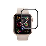 Защитное стекло 3D Tempered Glass Curved Edge Black для Apple Watch 44mm Series 4