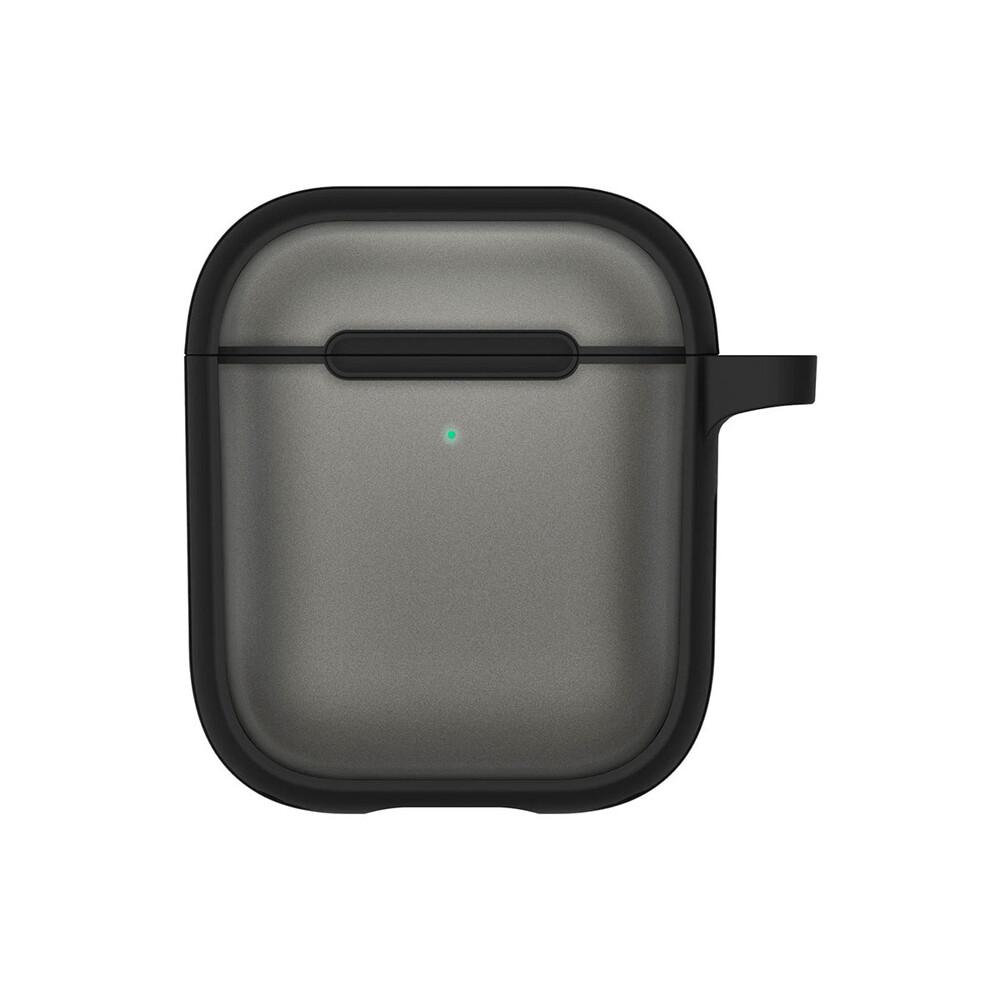 Купить Чехол с карабином CYRILL Color Brick Matte Black для Apple AirPods 1 | 2