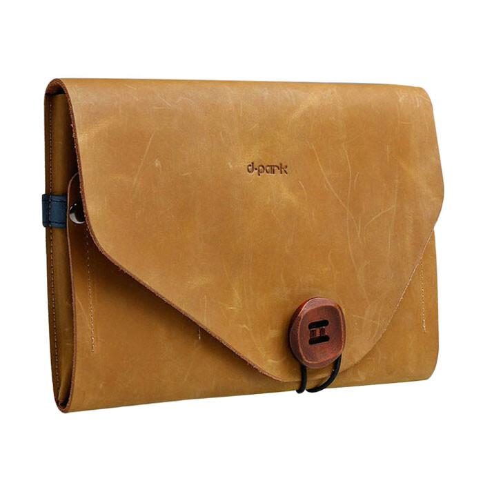 """Чехол-сумка d-park Envelope Khaki для iPad Pro 9.7""""/Air 2/Air/9.7"""" (2017)"""