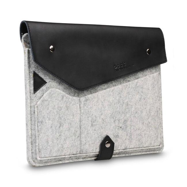 "Чехол d-park Golden Triangle Light Grey/Black для iPad Pro 9.7""/Air 2/Air"