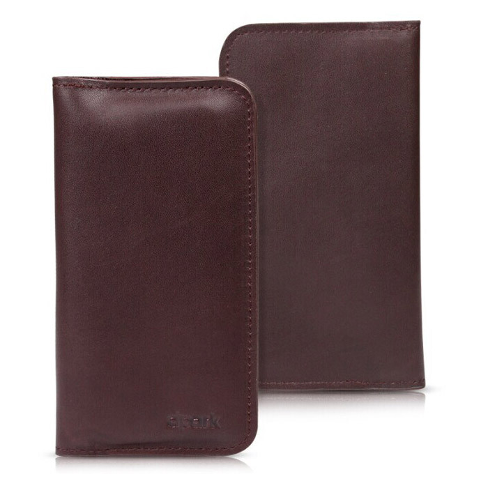 Кожаный чехол d-park Hippocampus Brown для iPhone 6 Plus/6s Plus/7 Plus/8 Plus/X & Samsung S7/S6 Edge/S8 Plus