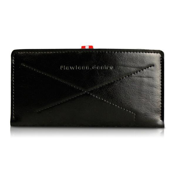 Кожаный черный чехол-карман d-park Handmade Sleeve для iPhone 6/6s/7