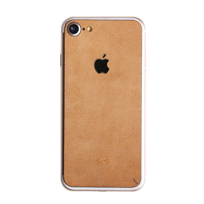 Купить Кожаная наклейка на заднюю панель d-park Leather Skin Sticker для iPhone 7   8