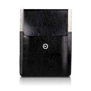 """Купить Кожаный чехол d-park Postman Black для Apple Macbook 12""""/Air 11"""""""