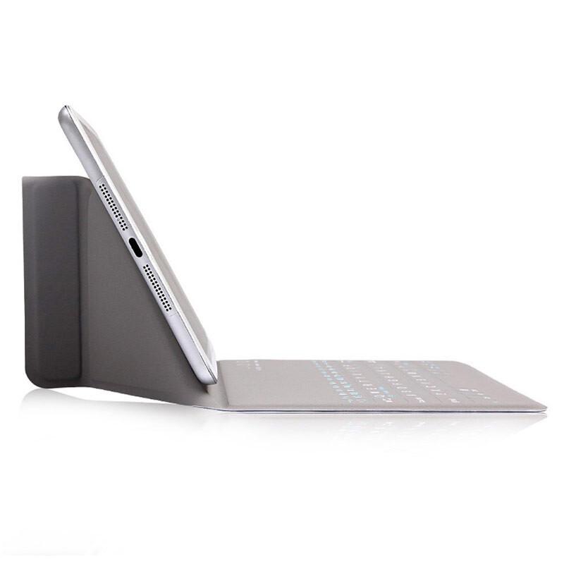"""Ультратонкий чехол-клавиатура d-park Slimkeys 4mm Grey для iPad Pro 9.7""""/Air 2/Air/9.7"""" (2017)"""