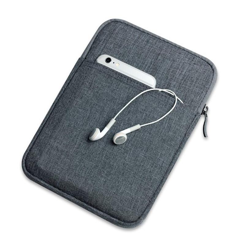 Чехол d-park Tote Bag Oil Wax Gray для iPad