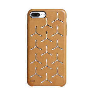 Купить Чехол из натуральной кожи d-park Vintage Boomerang для iPhone 7 Plus