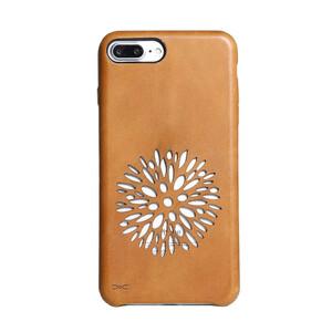 Купить Чехол из натуральной кожи d-park Vintage Dandelion для iPhone 7 Plus/8 Plus