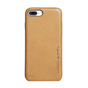 Купить Чехол из натуральной кожи d-park Vintage No Pattern для iPhone 7 Plus/8 Plus